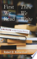 First We Read, Then We Write : thoughts on the craft are...