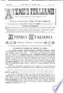 Ateneo italiano amore e lavoro