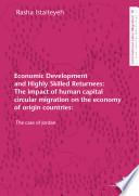 Economic Development And Highly Skilled Returnees