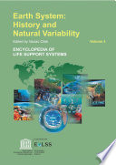 Earth System: History And Natural Variability - Volume III : of encyclopedia of natural resources policy...