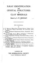 The X-ray Identification and Crystal Structures of Clay Minerals