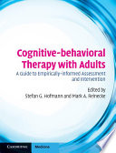 Cognitive behavioral Therapy with Adults