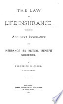 The Law Of Life Insurance