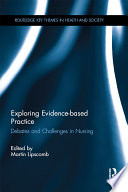 Exploring Evidence based Practice