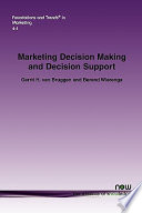 Marketing Decision Making and Decision Support