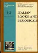 Italian Books and Periodicals