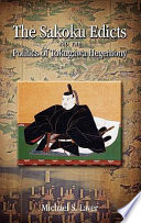 The Sakoku Edicts and the Politics of Tokugawa Hegemony