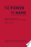The Power To Name book