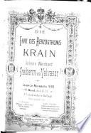 Die Ehre des Hertzogthums Krain