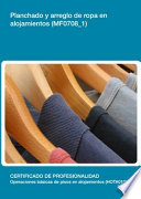 MF0708 1   Planchado y arreglo de ropa en alojamientos