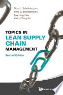 Topics in Lean Supply Chain Management