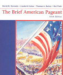 The Brief American Pageant