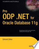 Pro ODP NET for Oracle Database 11g