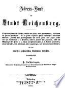 Andreß-Buch der Stadt Reichenberg; mit dem neuesten .. Stadtplane