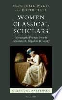Women Classical Scholars