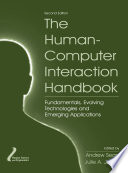 The Human Computer Interaction Handbook