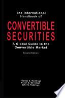 International Handbook Of Convertible Securities
