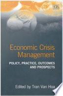 Economic Crisis Management