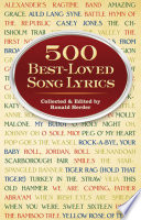 500 Best Loved Song Lyrics