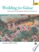 Wedding for Guitar  In TAB