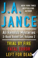 j a jance s ali reynolds mysteries 3 book boxed set volume 2