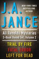 download ebook j.a. jance\'s ali reynolds mysteries 3-book boxed set, volume 2 pdf epub