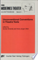Unconventional Conventions in Theatre Texts