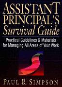 Assistant Principal S Survival Guide