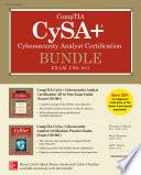 Comptia Cysa Cybersecurity Analyst Certification Bundle Exam Cs0 001