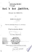 Lebensgeschichte Karl des Zwölften, Königs von Schweden