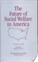 The Future of Social Welfare in America