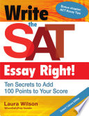Write the SAT Essay Right