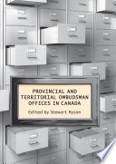 Provincial   Territorial Ombudsman Offices in Canada