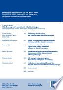 Globalisierung und transnationale Arbeitsbeziehungen
