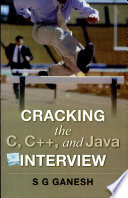 Cracking The C, C++ And Java Interview