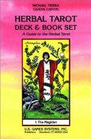 Herbal Tarot Deck   Book Set