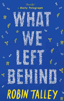 What We Left Behind : telegraph on lies we tell ourselves...