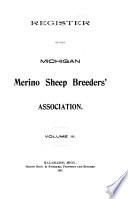 Register of the Michigan Merino Sheep Breeders  Association