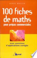 100 fiches de maths