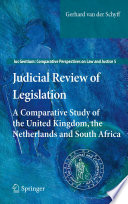 Judicial Review of Legislation