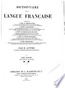 Dictionnaire de la langue fran  aise