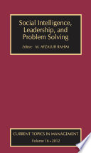 Social Intelligence  Leadership  and Problem Solving