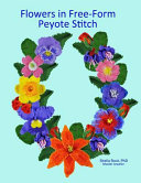 Flowers In Free Form Peyote Stitch