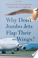 Why Don t Jumbo Jets Flap Their Wings