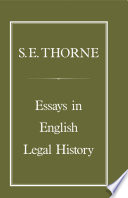 Essays in English Legal History