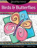 Zenspirations Coloring Book Birds   Butterflies  Create  Color  Pattern  Play