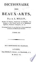 Dictionnaire des beaux arts