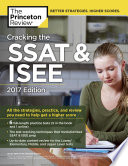 Cracking the SSAT   ISEE  2017 Edition