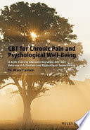 CBT for Chronic Pain and Psychological Well Being