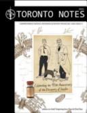 2011 Toronto Notes